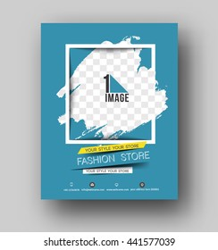 Shopping Center Store Flyer & Poster Template
