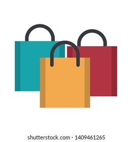 shopping concept elements cartoon vector illustration graphic design