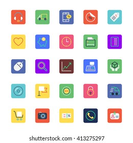 Shopping and eCommerce Colored Vector Icons 3