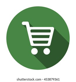 Shopping Icon, flat design style