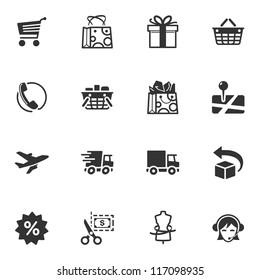 Shopping Icons - Set 1
