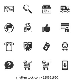 Shopping Icons - Set 2