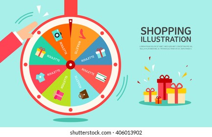 shopping Illustrations