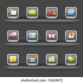 Shopping & internet | Mobile devices apps icons