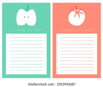 Rin ohara 39 s portfolio on shutterstock for Grocery list template for mac