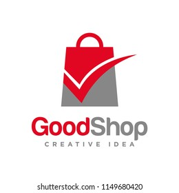 Shopping Logo Vector Template
