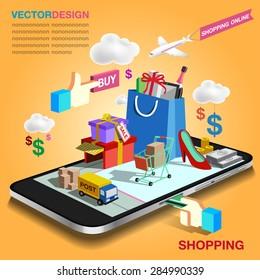 shopping mobile
