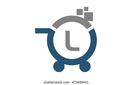 Shopping Online Initial L