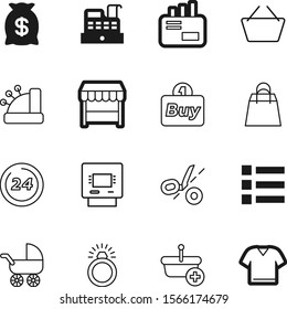 shopping vector icon set such as: debt, technology, ring, style, success, carriage, e-mail, circle, post, price, wedding, contact, discount, maternity, hour, cart, outline, banking, modern, coin, kid