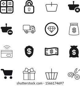 shopping vector icon set such as: price, parcel, shiny, calculator, pile, transportation, bow, hypermarket, marriage, fashion, wedding, bills, car, salary, round, diamond, pay, financial, super