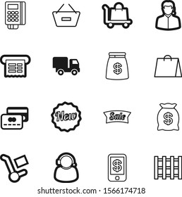 shopping vector icon set such as: big, fast, pallet, pin, currency, mall, wood, eco, effect, smartphone, nfc, board, ecommerce, badge, offer, palette, pos, message, industry, ticket, e-commerce