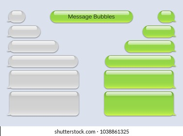 Short Message Service Bubbles