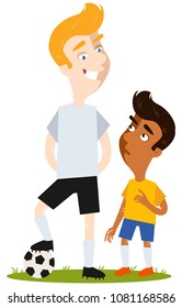 Tall+and+short+man Images, Stock Photos & Vectors | Shutterstock