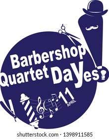 Shortcut to celebrate Barbershop Quartet Day