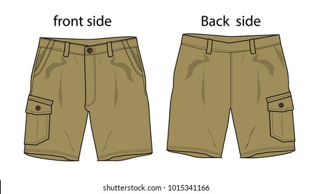 shorts vector for design