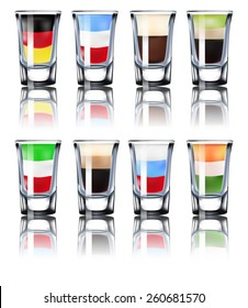 Shot glasses set