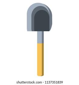 shovel tool icon