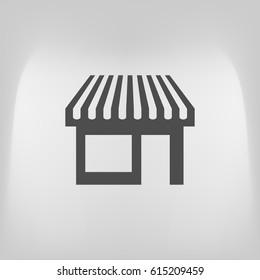 Showcase icon vector illustration
