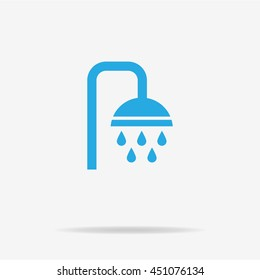 Shower icon. Vector concept illustration for design.
