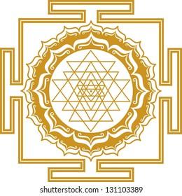 Shri Chakra Yantra - cosmic conductor of energy