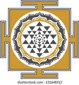 Shri Chakra Yantra - goddess of all yantras