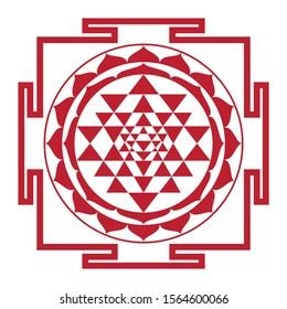 Shri Yantra - sacred geometry