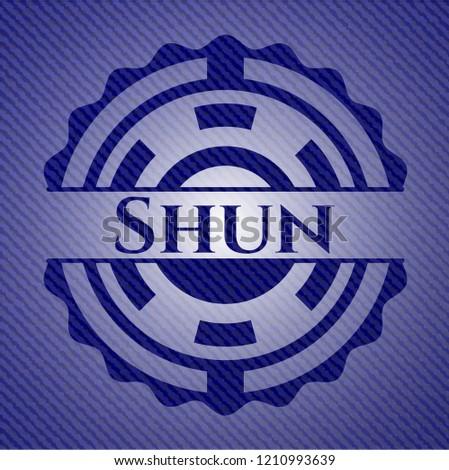 Shun emblem with jean