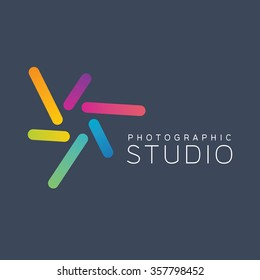 Shutter logo. Photo logo. Design logo. Studio logo. Focus logo. Photography logo