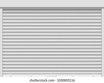 Shutter roller closeup vector