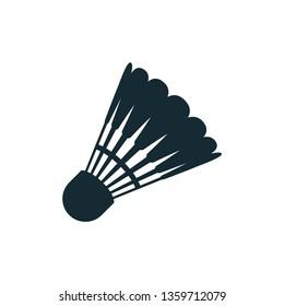 shuttlecock icon, badminton, sport vector design