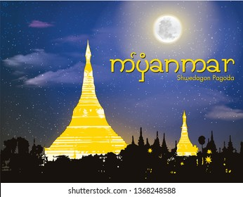Shwedagon Pagoda. The Shwedagon Pagoda is one of the most famous pagodas in the world and it is certainly the main attraction of Yangon, Myanmar's capital city.