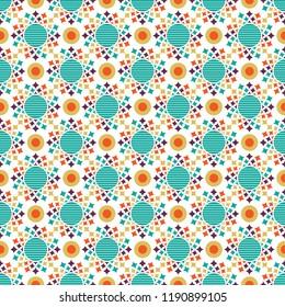 Shweshwe star pattern