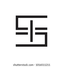 SI letter logo