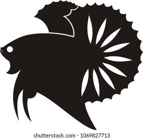 820 Gambar Ikan Cupang Vector Gratis Terbaru