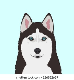 Siberian husky, The buddy dog