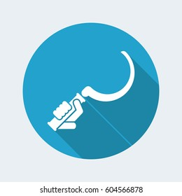 Sickle - Vector flat icon