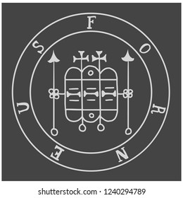 Sigils from the Goetia. Magical Amulets. Sacred geometry. Can be used as tattoo, logos and prints.