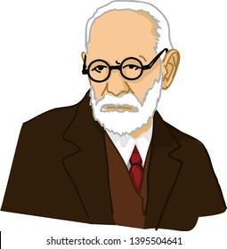 Sigmund Freud Psychodynamic Pioneer simple