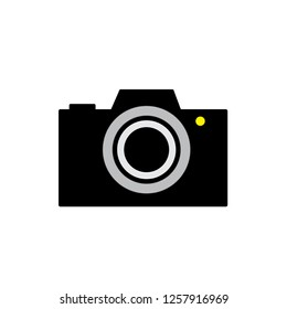 sign camera icon vector