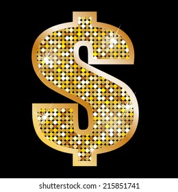 Sign of dollar