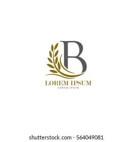 Sign the letter B Branding Identity Corporate vector logo design template