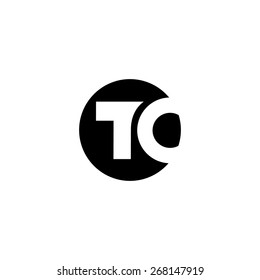 Sign of the letter T and C. Vector Illustration. Branding Identity Corporate logo design template Isolated on a white background
