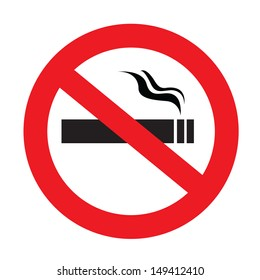 a sign showing no smoking is allowed