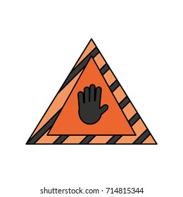 signal construction vector illustration