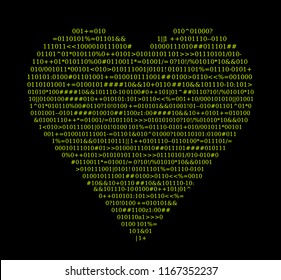 Signal heart, text sourdce code valentines day