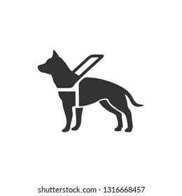 signal to indicate that assistance dogs are welcome