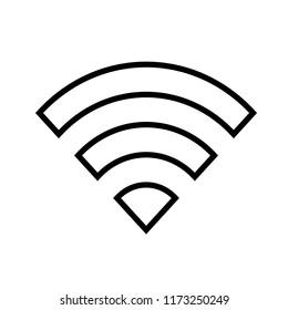signal vector icon