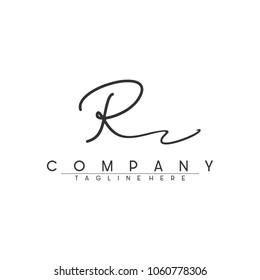 Signature Letter R Logo