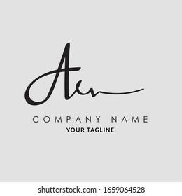 Signature Letter A Vector Logo