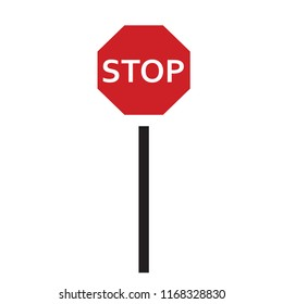 signpost stops icon